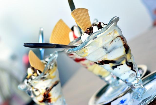 Ice Cream Eisdiele Eiscafe